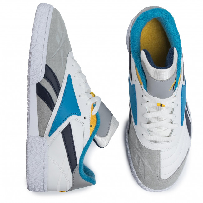 Chaussures Reebok - Club C Rc 1.0 DV8662  White/Trgry3/Conavy - Sneakers - Chaussures basses - Homme