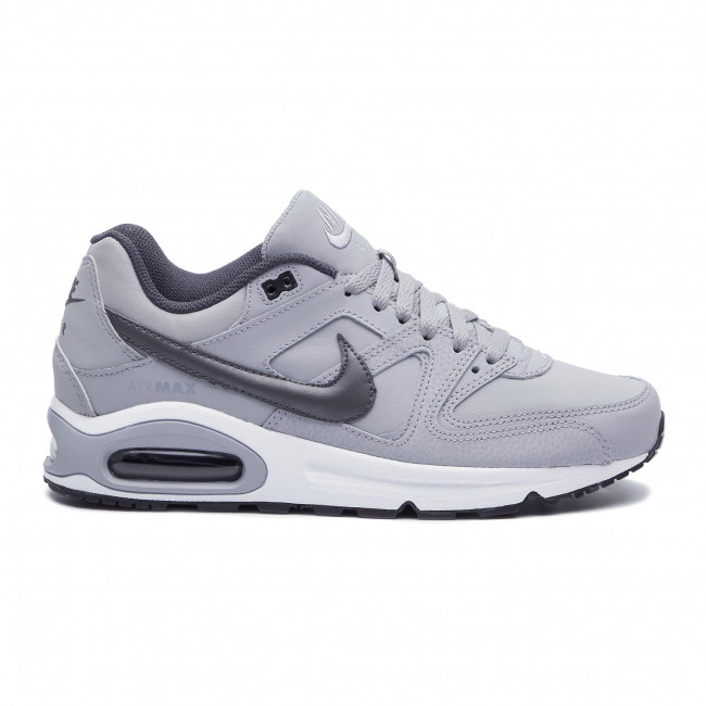 Chaussures NIKE Air Max Command Leather 749760 012 Wolf GreyMtlc Dark GreyBlack