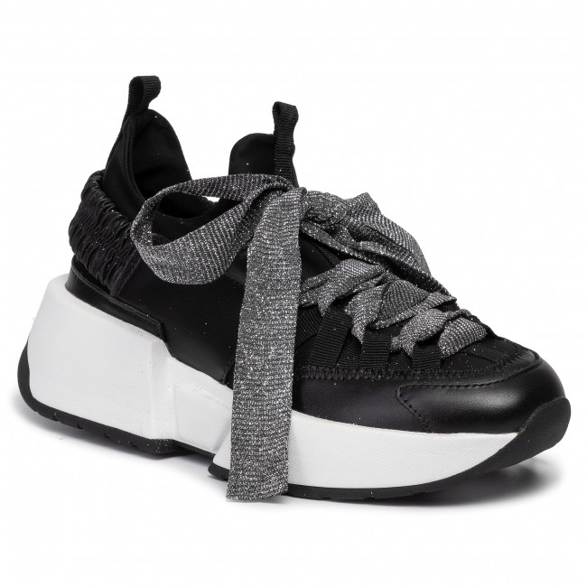 abordables Sneakers SCA'VIOLA - E-31 Black - Sneakers - Chaussures basses - Femme  Prendre plaisir