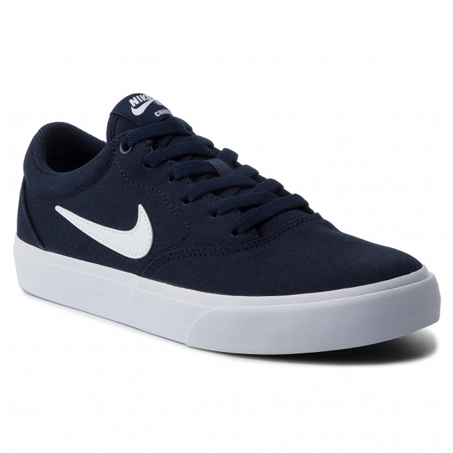 Chaussures NIKE Sb Charge Slr CD6279 400 ObsidianWhite