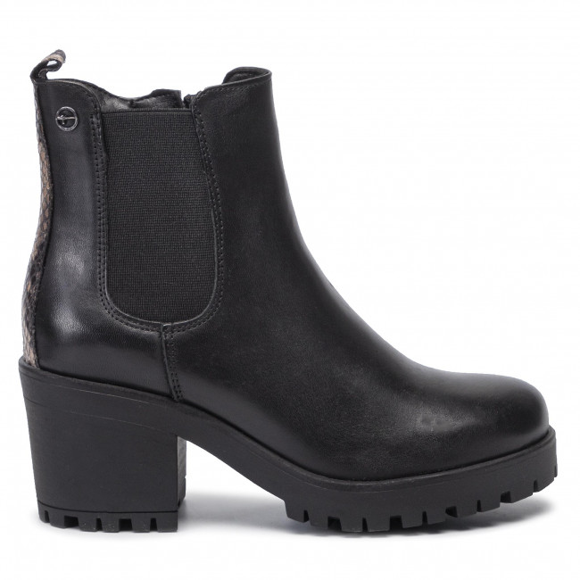 Bottines 33 snack 1 25464 Tamaris 066 Black 4AjLR5Sq3c
