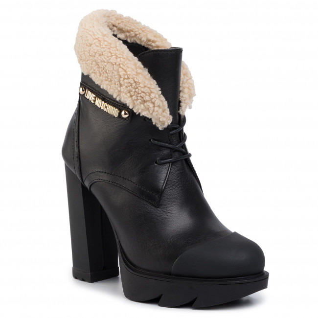 Bottines LOVE MOSCHINO JA1012BG08JFX000 Nero