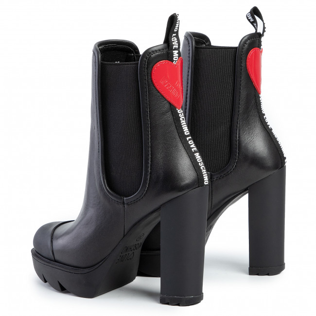 Bottines LOVE MOSCHINO JA2111BG08JFR000 Nero