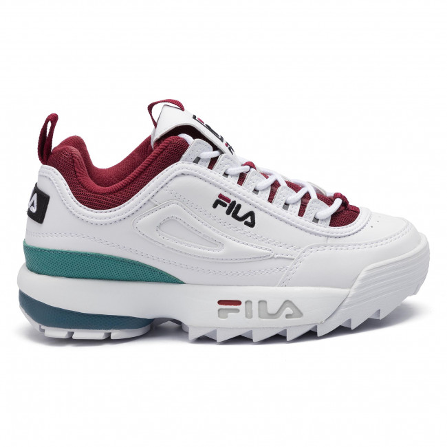Sneakers FILA Disruptor Cb Low Wmn 1010604.02H WhiteRhubarb