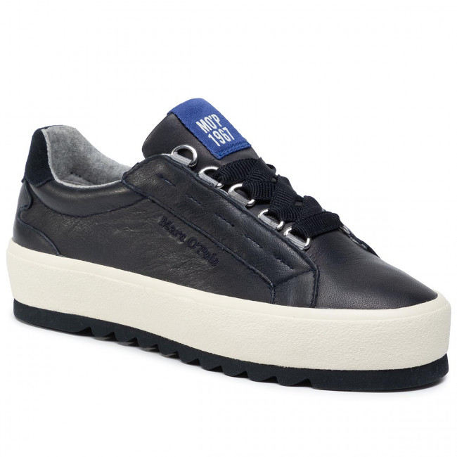 abordables Sneakers MARC O'POLO - 907 14433503 100 Navy 890 - Sneakers - Chaussures basses - Femme  Prendre plaisir