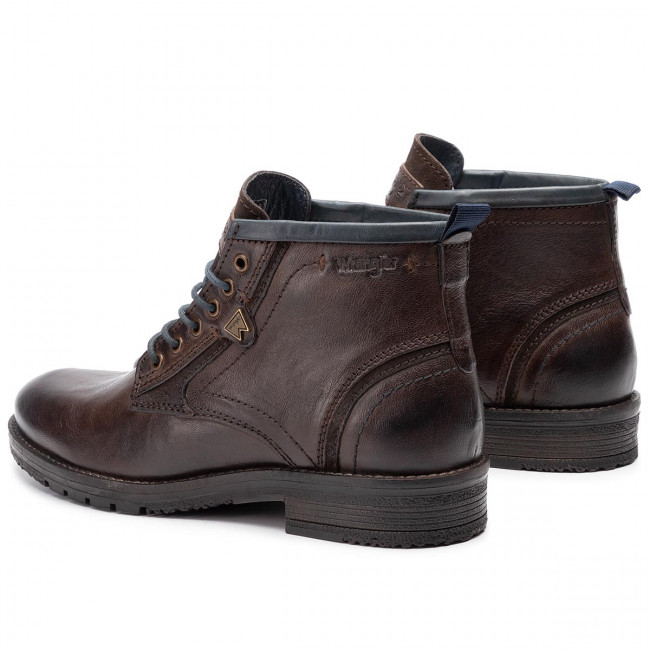 Boots Wm92060a Mid DkBrown Boogie 30 Wrangler fgy76bY
