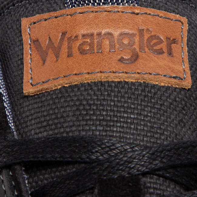 Sneakers Wrangler - Owen Low Wm92091a Black 62 Chaussures Basses Homme