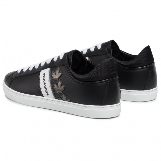 Sneakers DSQUARED2 - Lace-Up Low Top Sneakers SNM0035 06502259 M1082 Nero/Anthracite - Sneakers - Chaussures basses - Homme