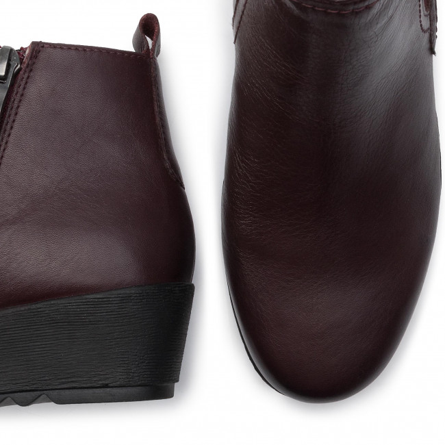 23 Caprice Bordeaux Bottines Nappa 540 9 25411 PZOkiuXT