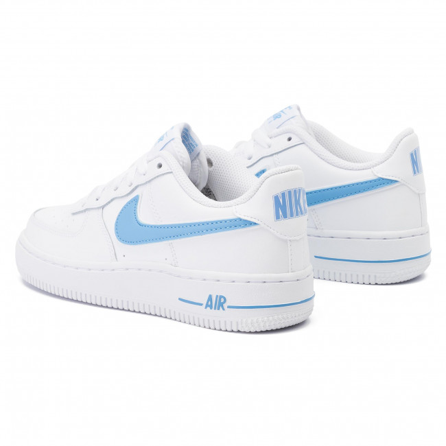 Chaussures NIKE Air Force 1 3 (Gs) AV6252 102 WhiteUniversity Blue