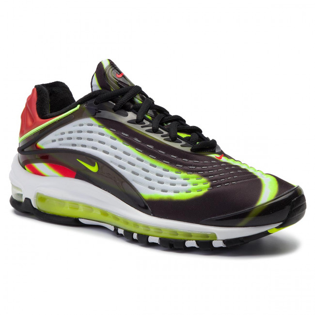 f5a466ef589b6 Chaussures NIKE - Air Max Deluxe AJ7831 003 Black/Volt/Habanero/Red/White