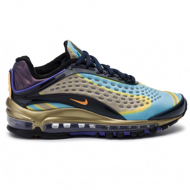 Chaussures NIKE Air Max Deluxe AQ1272 400 MIdnight NavyLaser Orange