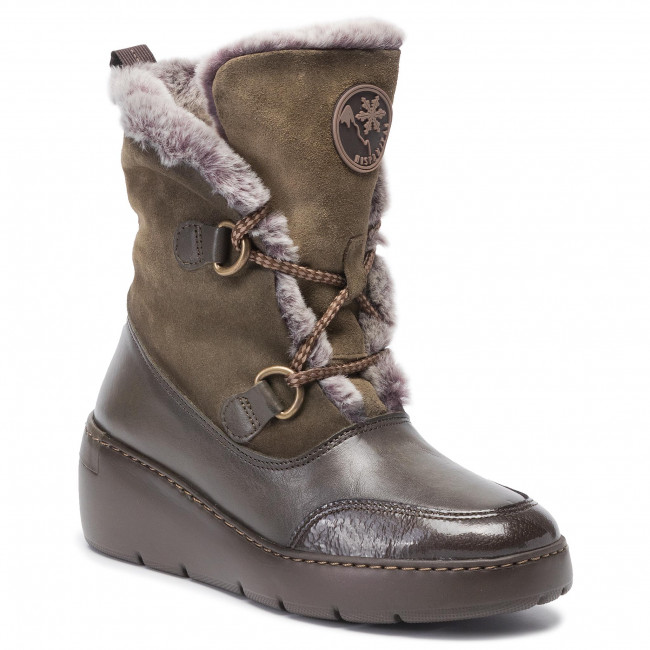 Bottines bora Army Bora Hi99425 Hispanitas uF1J5KTlc3
