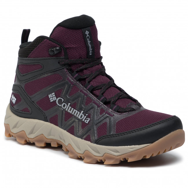 Chaussures de trekking COLUMBIA Peafreak X2 Mid Outdry BL0828 Black CherryColumbia Grey 639