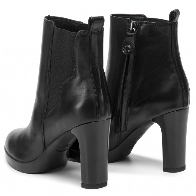 00043 Geox Annya C9999 Bottines D94aea D HA Black Jl1FKc
