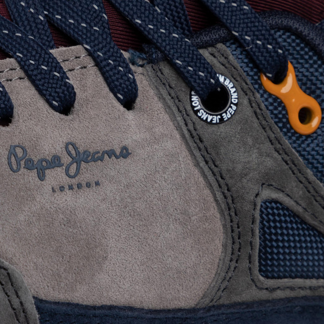 Sneakers Pepe Jeans - Slate Pro 01 Pms30571 Dark Grey 975 Chaussures Basses Femme