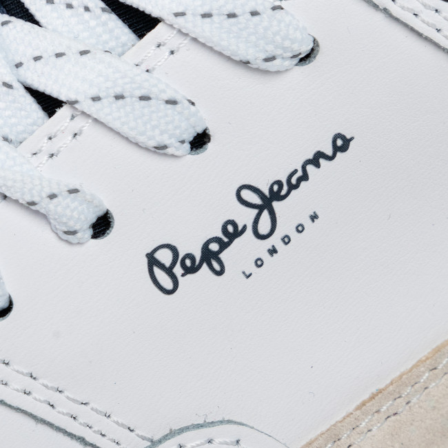 Sneakers Pepe Jeans - Slate Pro 01 Pms30572 White 800 Chaussures Basses Homme
