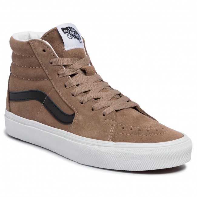 abordables Sneakers VANS - Sk8-Hi VN0A4BV6XKE1 (Suede) Portabella/Tr Wht - Sneakers - Chaussures basses - Femme  Prendre plaisir