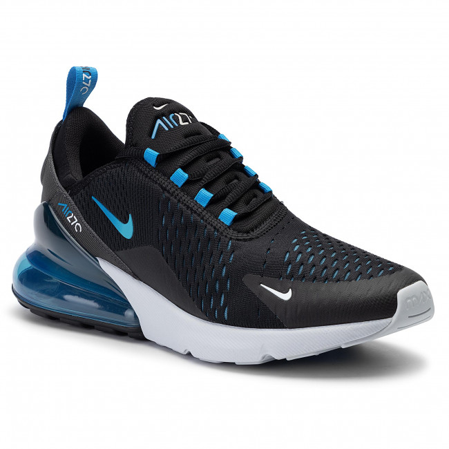 Chaussures NIKE Air Max 270 AH8050 019 BlackPhoto Blue Blue Fury