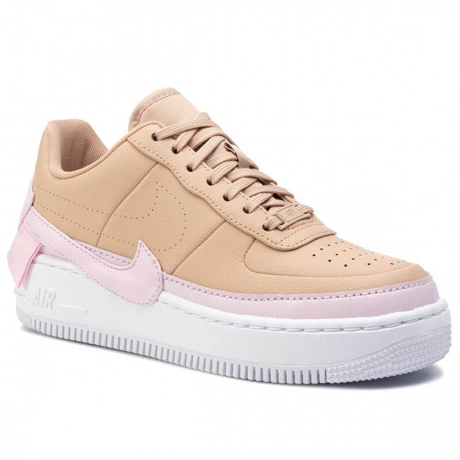 Chaussures NIKE Af1 Jester Xx AO1220 202 Bio BeigePink Force White