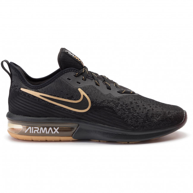 Chaussures NIKE Air Max Sequent 4 AO4485 005 BlackBlackAnthraciteWhite