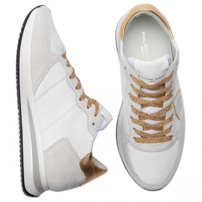 Blanc Model Tzld Sneakers Wx07 Or Philippe Trpx thQdsCr