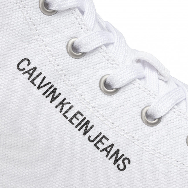 Sneakers Calvin Klein Jeans - Merlin B4s0081 White/clear Chaussures Basses Homme