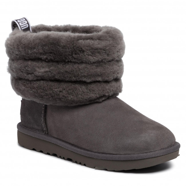 Ugg Chrc Quilted Chaussures Mini T Fluff 1103612k 2WHD9IE