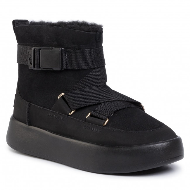 Chaussures UGG W Classic Boom Buckle 1104616 Blk