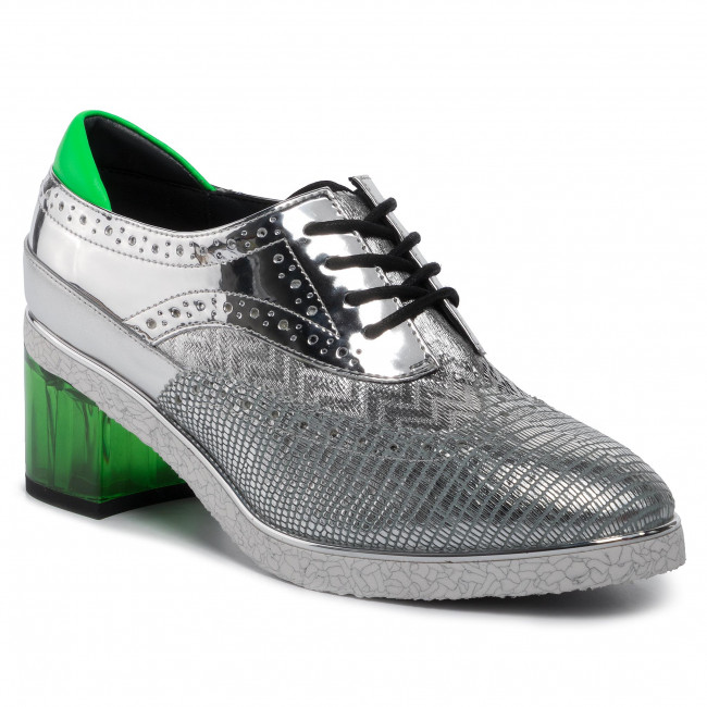 abordables Chaussures basses UNITED NUDE - Brogue 103081416  Silver - Talons - Chaussures basses - Femme  Prendre plaisir