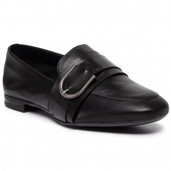 abordables Loafers GINO ROSSI - Iku DWI657-Z47-0324-9900-0  99 - Loafers - Chaussures basses - Femme  Prendre plaisir