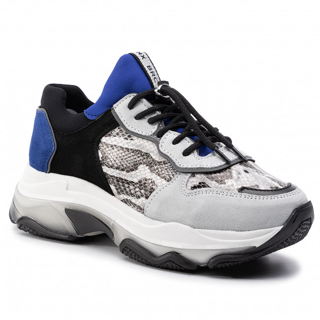 Sneakers BRONX 66167A CJ BX 1525 Off WhiteBlackCobalt