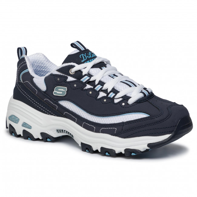 Sneakers SKECHERS D'lites Biggest Fan 11930NVW NavyWhite