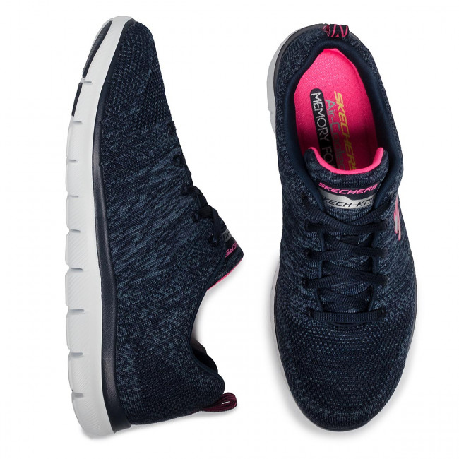 Chaussures SKECHERS - High Energy 12756/NVY Navy - Fitness - Chaussures de sport - Femme