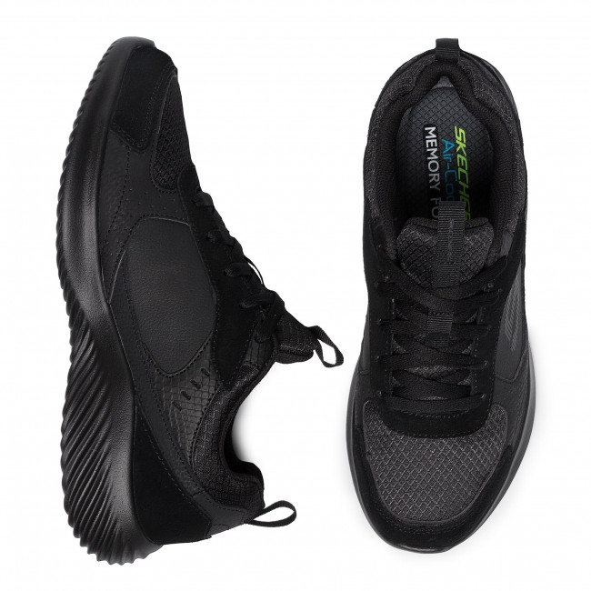 Sneakers SKECHERS - Courthall 52511/BBK Black - Sneakers - Chaussures basses - Homme