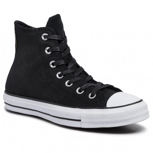 abordables Sneakers CONVERSE - Ctas Hi 564961C Black/Habanero Red/White - Baskets - Chaussures basses - Femme  Prendre plaisir