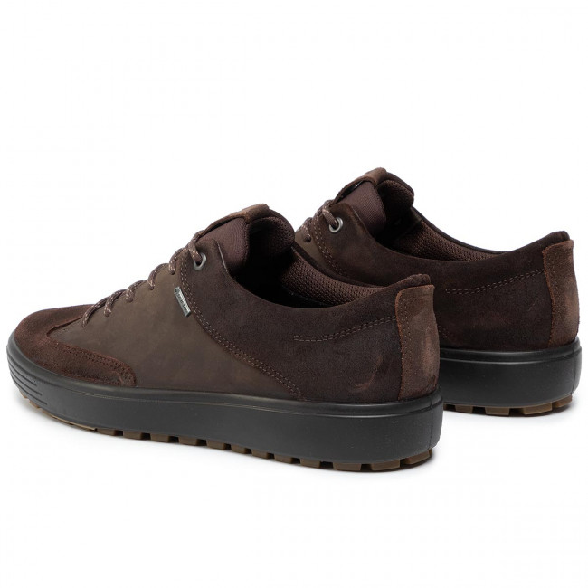 Ecco Chaussures 7 Gore tex M Basses Soft coffee 45010451869 Tred Coffee XTkiPZwOu