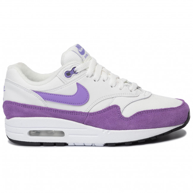 Chaussures NIKE Air Max 1 319986 118 Summit WhiteAtomic Violet