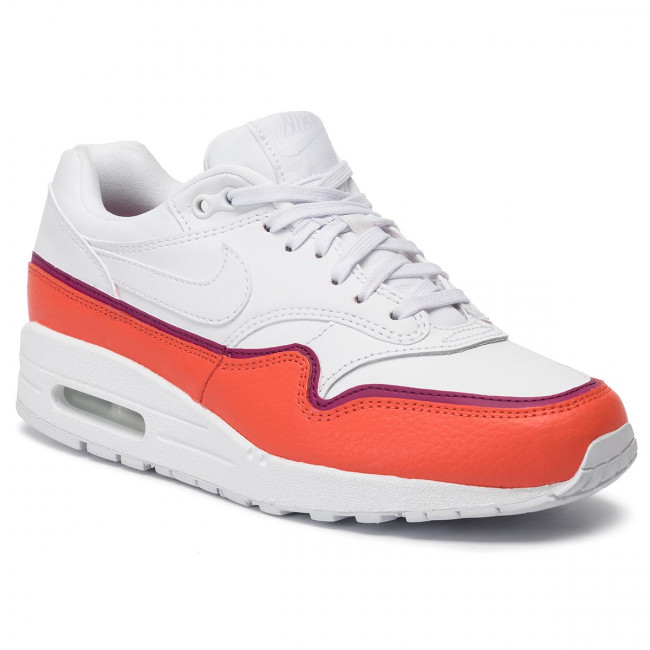 Chaussures NIKE Air Max 1 Se 881101 102 WhiteWhite Team Organe