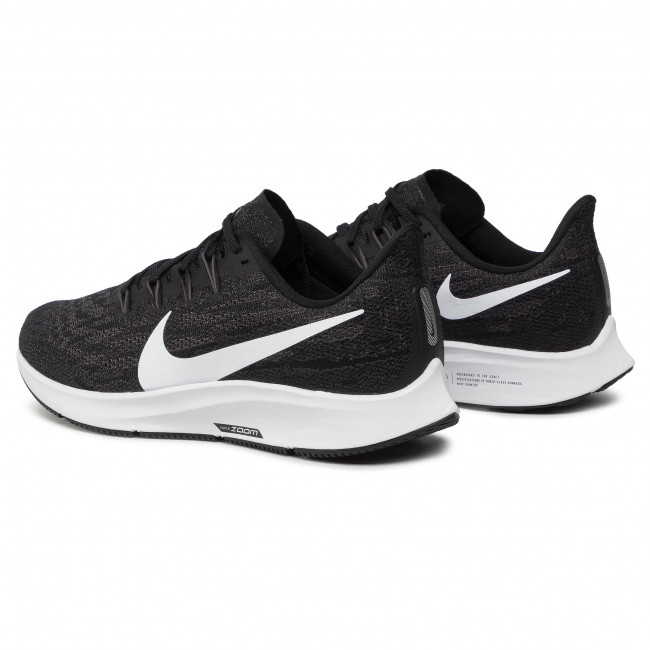 Chaussures NIKE Air Zoom Pegasus 36 AQ2203 002 BlackWhiteThunder Grey