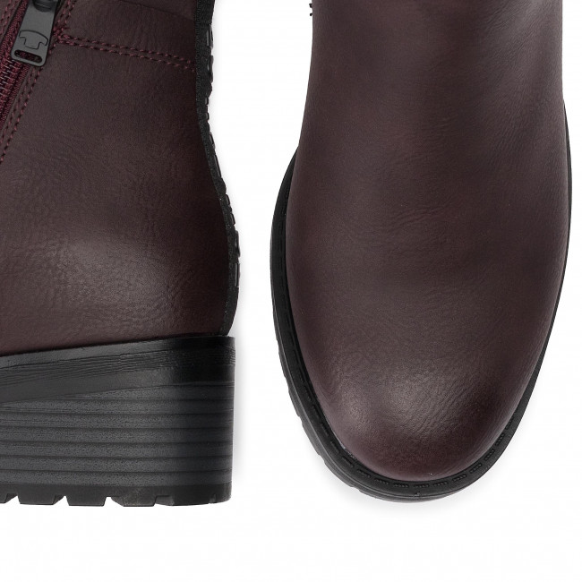 799130100 Oxblood Bottines Bottines Tom Tom Tailor Tailor QBderoCWx