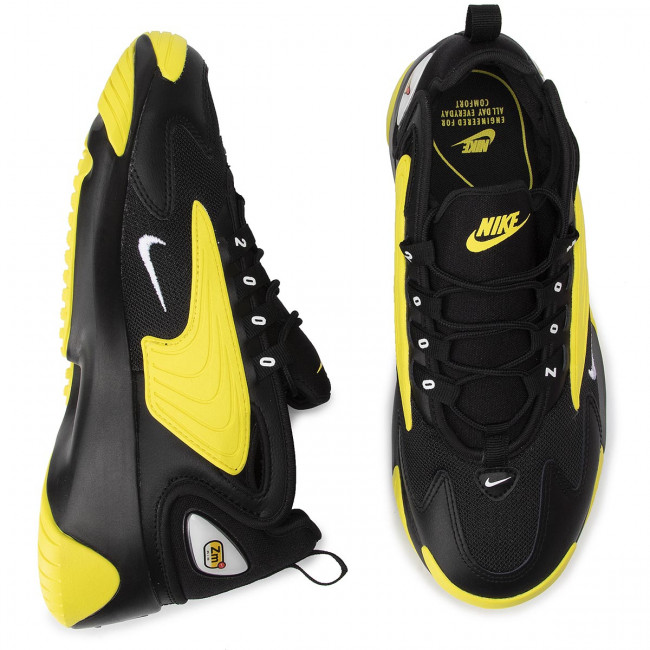 white Chaussures Nike 006 dynamic Zoom Black 2k Ao0269 Yellow N08nmw