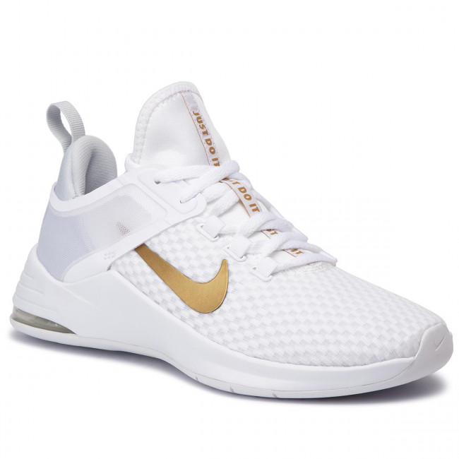 Chaussures NIKE Air Max Bella Tr 2 AQ7492 101 WhiteMetallic Gold