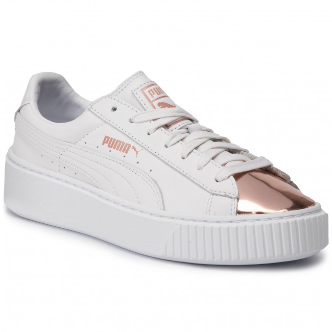 Sneakers PUMA Basket Platform Metallic 366169 03 Puma WhiteRose Gold