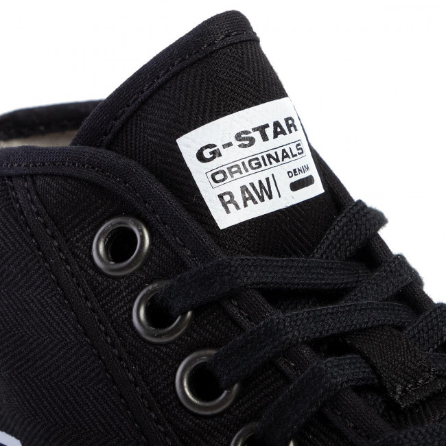 Sneakers G-star Raw - Rovulc Hb Mid D04356-8715-990 Black Baskets Chaussures Basses Homme