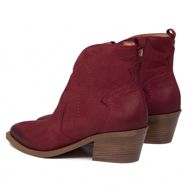 Bottines Bordo 1024 R Nubuk polański 3jq45RLA
