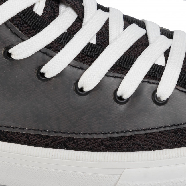 Sneakers GUESS - Nettuno Hi FM6NTH FAL12 BKGR - Sneakers - Chaussures basses - Homme