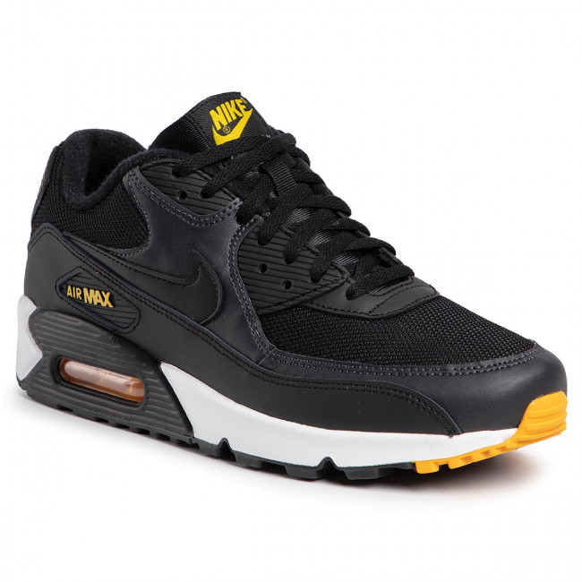 Chaussures NIKE Air Max 90 Essential AJ1285 022 BlackAmarilloAnthracite