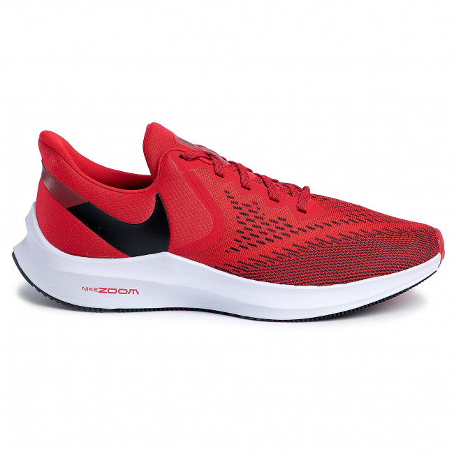 Chaussures NIKE - Zoom Winflo 6 AQ7497 600 University Red/Black/Gym Red  - Entraînement - Running - Chaussures de sport - Homme