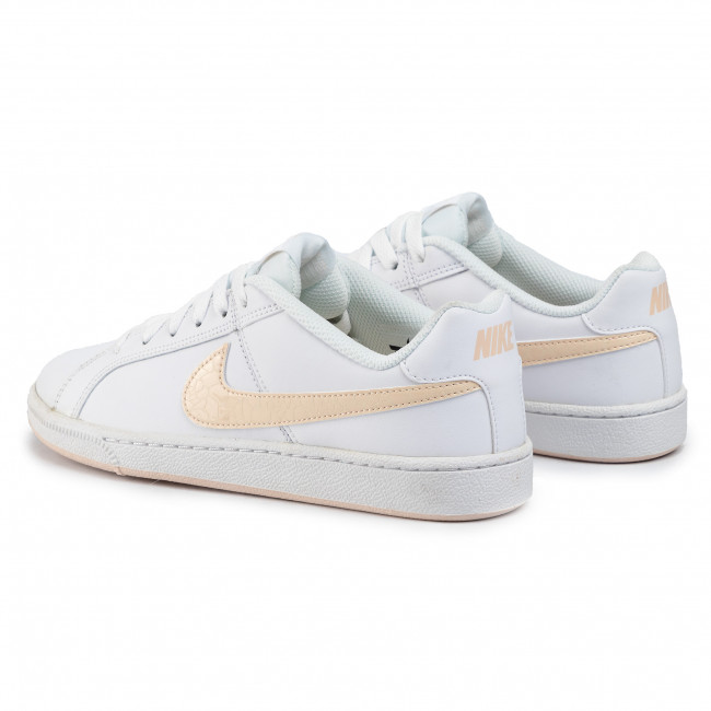 Chaussures Nike - Court Royale 749867 113 White/guava Ice Sneakers Basses Femme